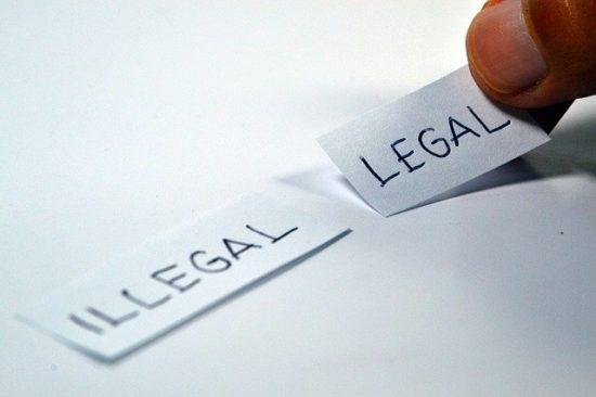 LEGALとILLEGALの選択