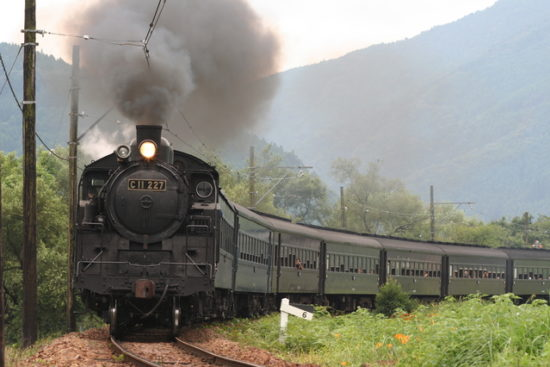 SL蒸気機関車
