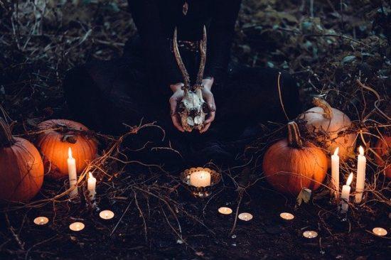 ハロウィンの儀式