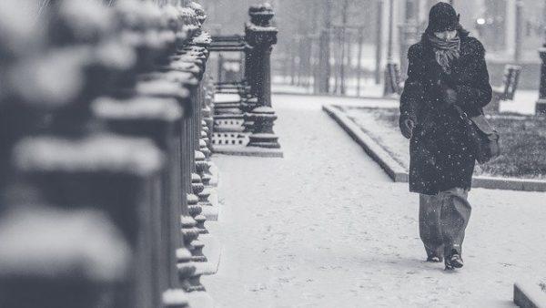 アメリカの寒い冬