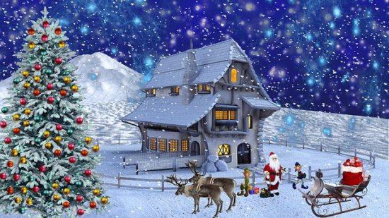 サンタクロースの家