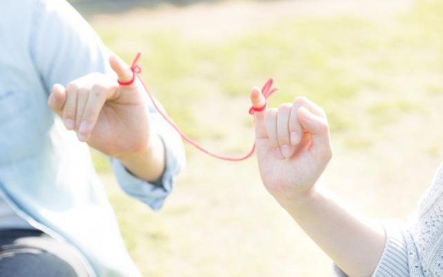 運命の赤い糸と男女