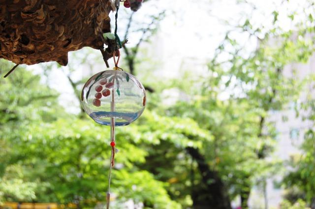 風鈴と蜂の巣