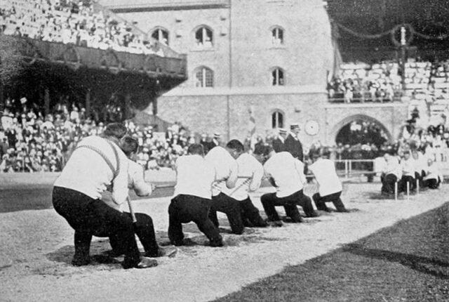 綱引きのオリンピック
