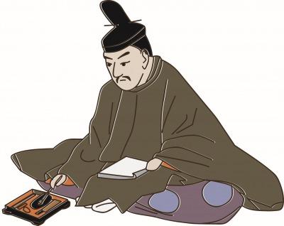 菅原道真のイラスト